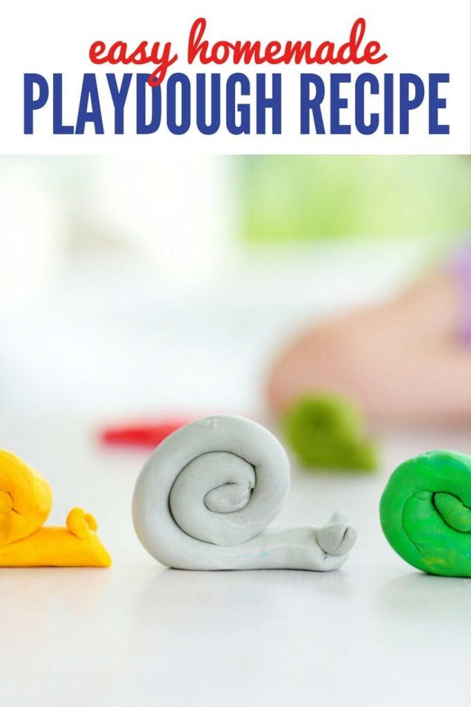 All Natural Homemade Playdough Recipe - Non Toxic