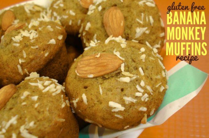 Gluten Free Banana Monkey Muffins Recipe