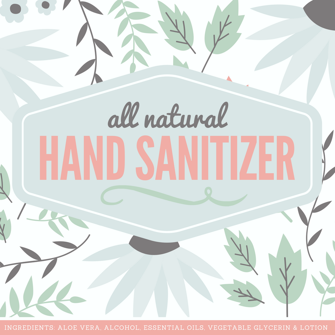 picture about Hand Printable titled Organic and natural Hand Sanitizer Recipe