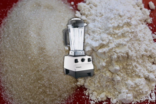 Make Your Own Powdered Sugar in the VitaMix