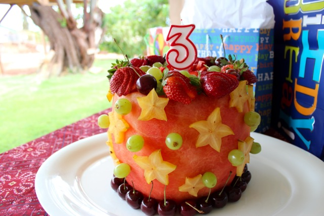 Real Watermelon Cake Recipe Made With 100 Fruit