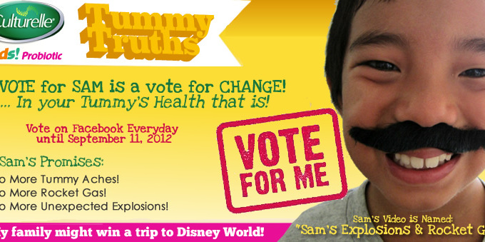 Please Vote for My Son Sam!
