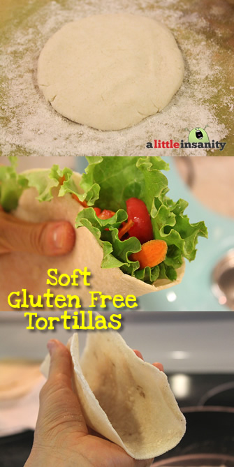 Soft Gluten Free Tortilla Recipe