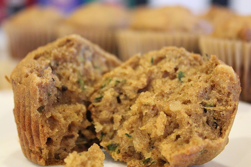 gluten free zucchini muffin recipe