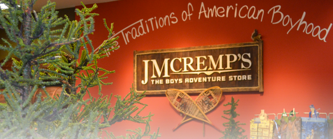 JM Cremps – An Adventure Store for Boys!