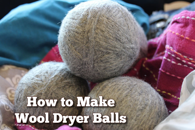 How to Make Wool Dryer Balls Pinterest 2