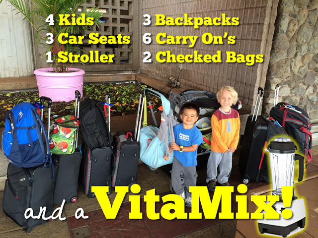 tips for traveling with your vitamix