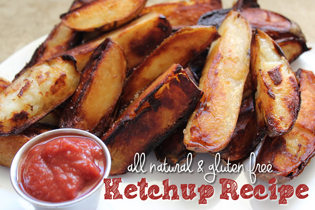 all natural gluten free ketchup recipe