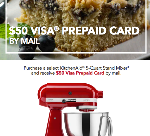 ebates kitchenaid rebate