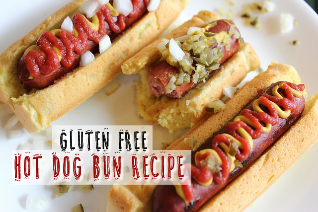 Gluten Free Hot Dog Bun Recipe – Egg Free Option