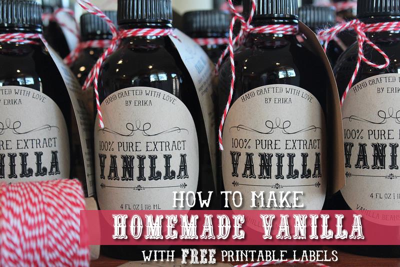 how to make homemade vanilla gluten free