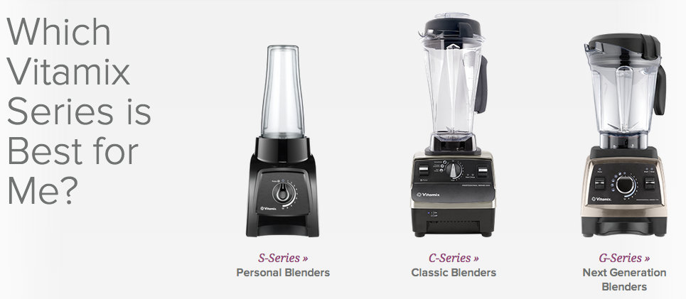 which vitamix is best