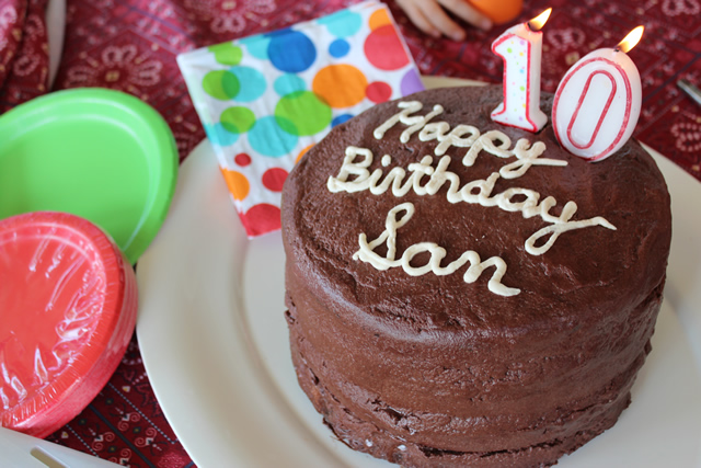 Gluten Free Birthday Cake Recipe Egg Free & Vegan