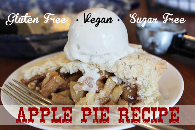 Gluten Free Apple Pie Recipe - Sugar Free