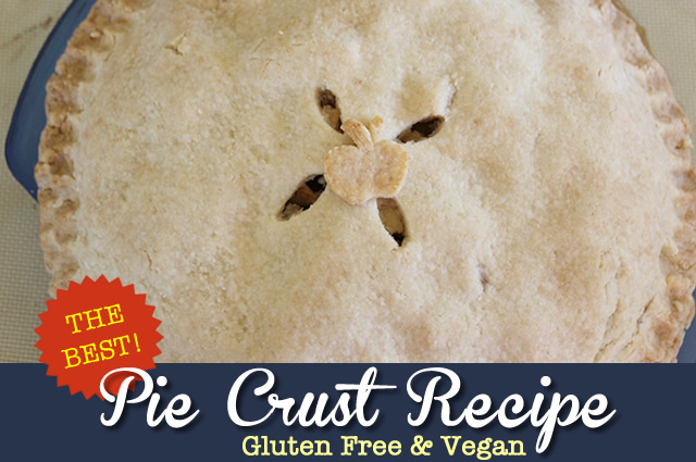Gluten Free Vegan Pie Crust Recipe - Easy! Light & Flakey!