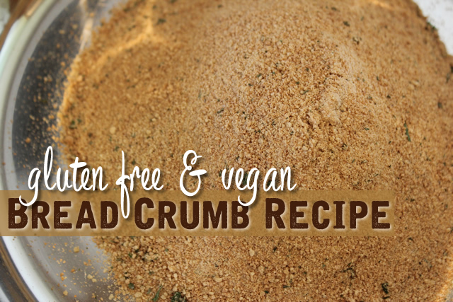 EASY Gluten Free Breadcrumb Recipe