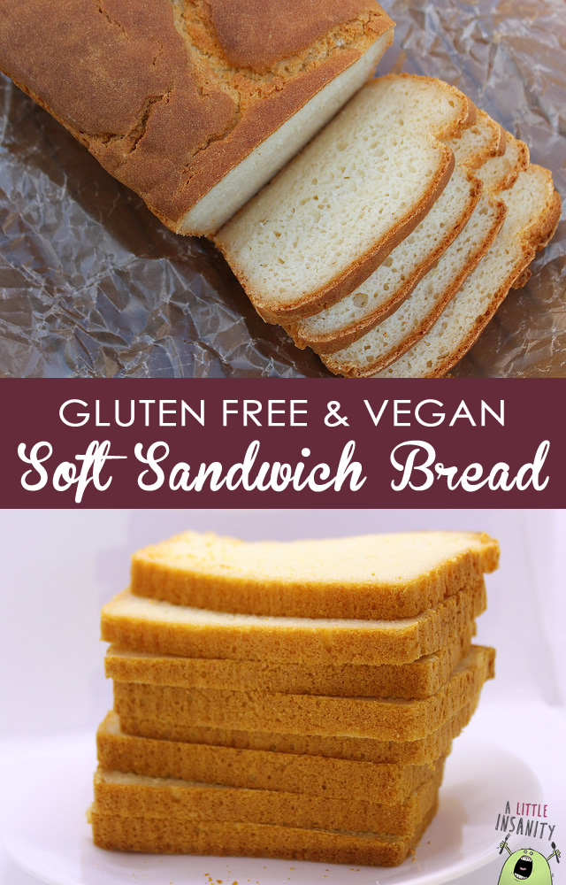 Gluten Free Vegan Soft Bread Recipe Pinterest