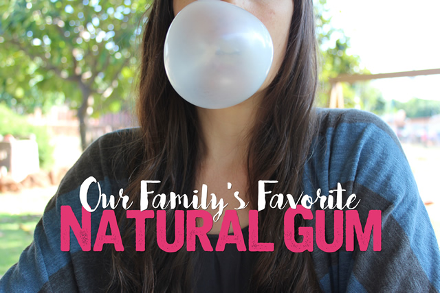 Our Familys Favorite Natural Gum is B-Fresh Gum