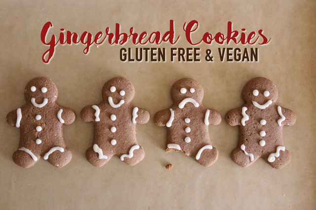 Gluten Free Gingerbread Cookie Recipe – Vegan!