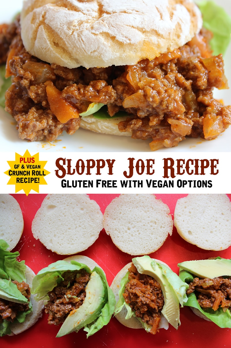 Gluten Free Sloppy Joe Recipe Vegan Pinterest