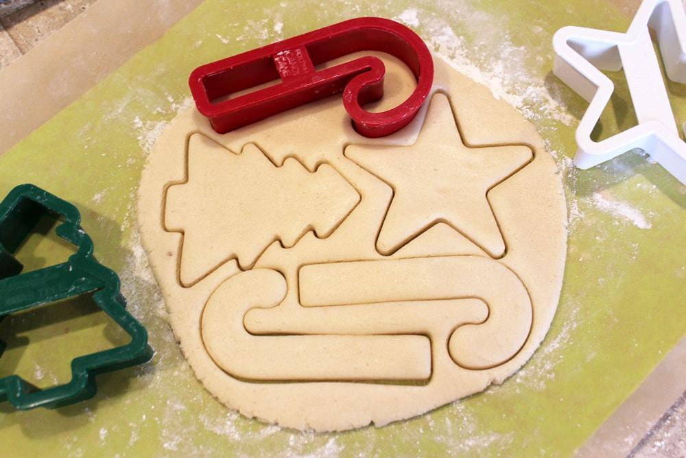 Gluten Free Vegan Christmas Cookies