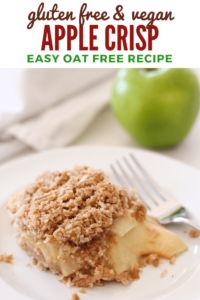 Gluten Free Vegan Apple Crisp Recipe - Pinterest