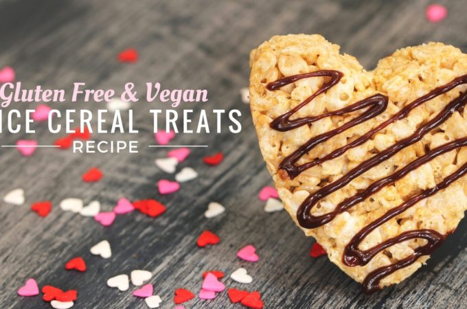 Gluten Free & Vegan Rice Crispy Treats Recipe