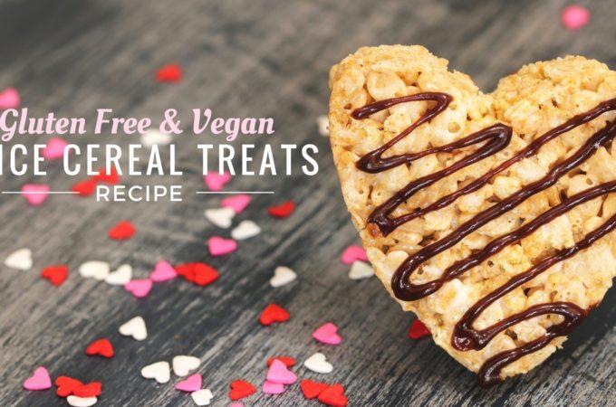 Gluten Free Vegan Rice Cereal Treat Recipe