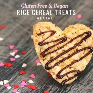 Gluten Free Vegan Rice Crispy Treat Recipe