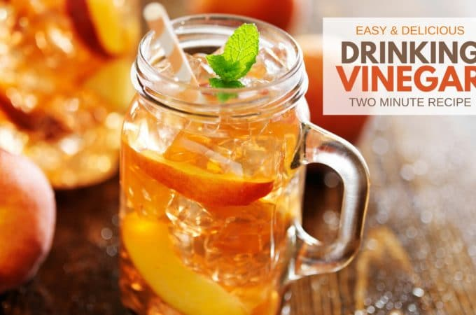 Easy & Delicious Instant Drinking Vinegar Recipe – Ready in 2 Minutes!