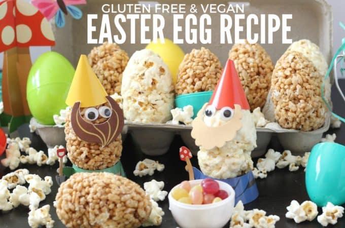 Fun Gluten Free & Vegan Easter Egg Recipe