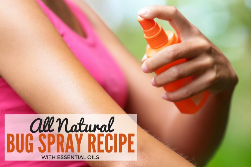 All Natural Bug Spray Recipe - Essential Oils