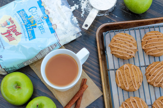 Gluten Free & Vegan Spiced Apple Cider Cookie Recipe