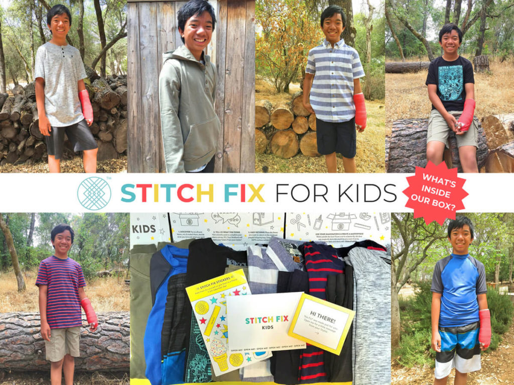 Stitch Fix Kids Review - Whats In the Box