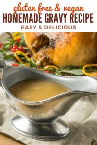 Gravy Recipe without Gluten #glutenfree #vegan #dairyfree #meat #holiday #recipe