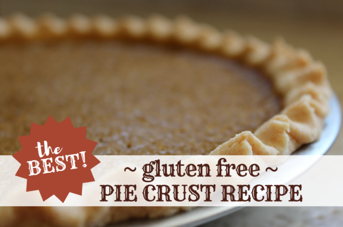 the best gluten free pie crust recipe