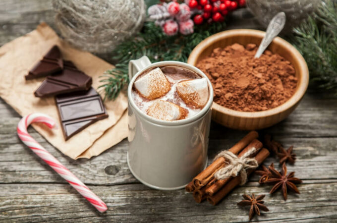 EASY Gluten Free & Vegan Instant Powdered Hot Chocolate Mix Recipe