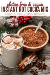 Homemade Instant Hot Cocoa Mix Recipe - Pinterest