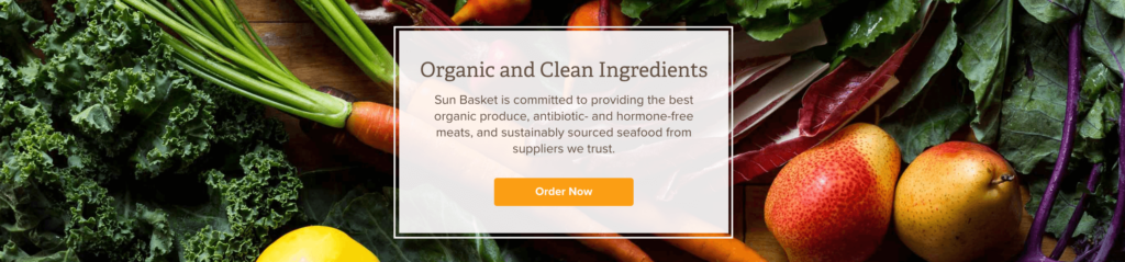 Sun Basket - Organic & Clean Ingredients