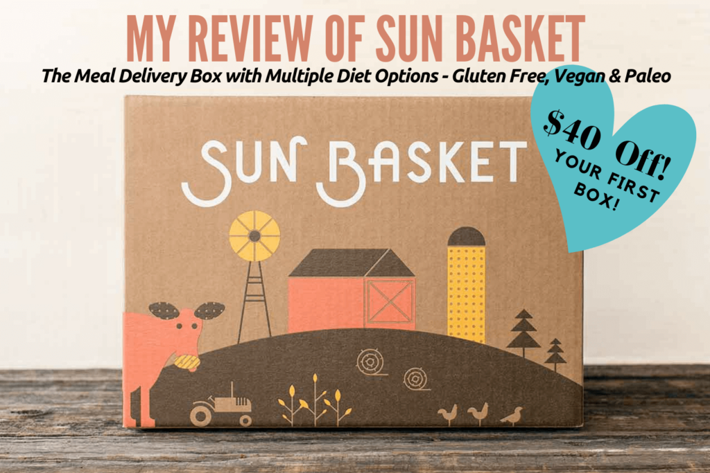 Sun Basket Review - The Meal Delivery Box with Multiple Diet Options - Gluten Free Vegan Paleo
