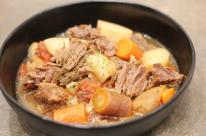 EASY Gluten Free Beef Stew Recipe – InstantPot or Crock Pot