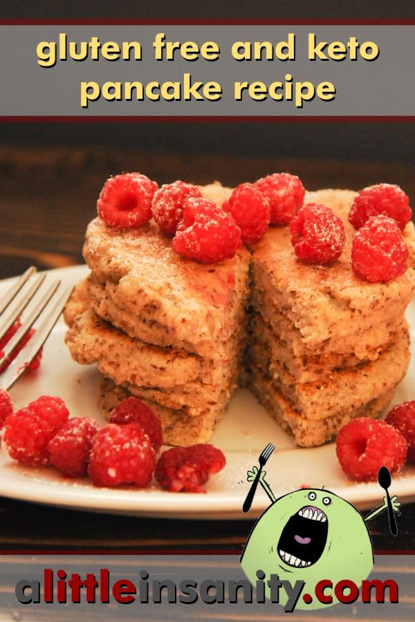 Gluten Free Keto Pancake Recipe
