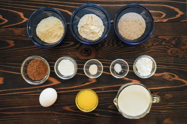 Keto Pancake Recipe Ingredients